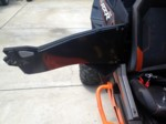 POLARIS RZR XP 1000 CARBON FIBER INNER DOOR SKIN